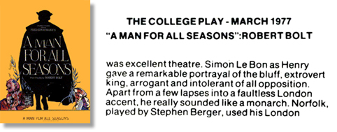 a review of the play a man of all seasons Superb movie of more's stand against henry viii read common sense media's a man for all seasons review, age rating, and parents guide.