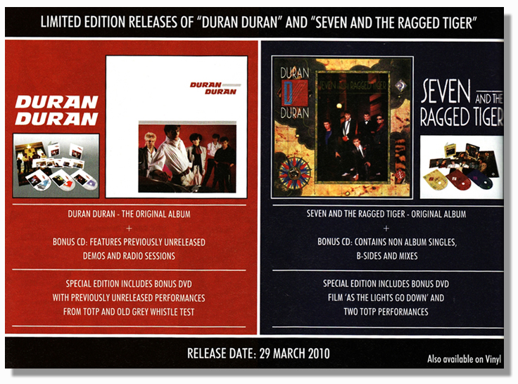 Duranasty Com Special Page About Duran Duran And Seven
